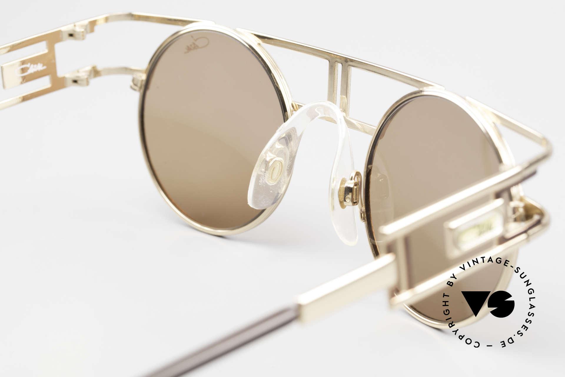 Cazal 958 90's CAzal Celebrity Sunglasses, with orig. CAZAL sun lenses for 100% UV protection, Made for Men and Women