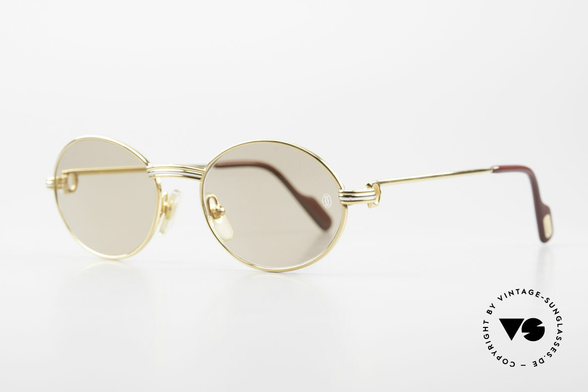 Cartier Saint Honore - S Oval 90's Luxury Sunglasses, 'Staint Honore' is one of the oldest streets in Paris, Made for Men and Women
