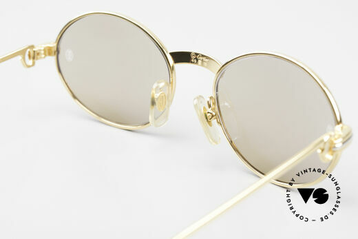 Cartier Saint Honore - S Oval 90's Luxury Sunglasses, NO RETRO SUNGLASSES; but a 20 years old ORIGINAL, Made for Men and Women