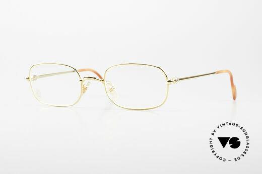Cartier Deimios Rare Luxury Eyeglasses 90's Details