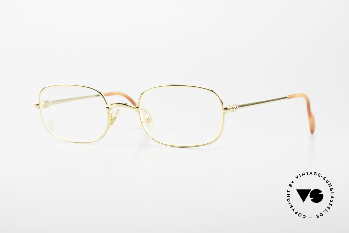 Cartier Deimios Rare Luxury Eyeglasses 90's, fine vintage CARTIER eyeglasses from the late 1990's, Made for Men and Women