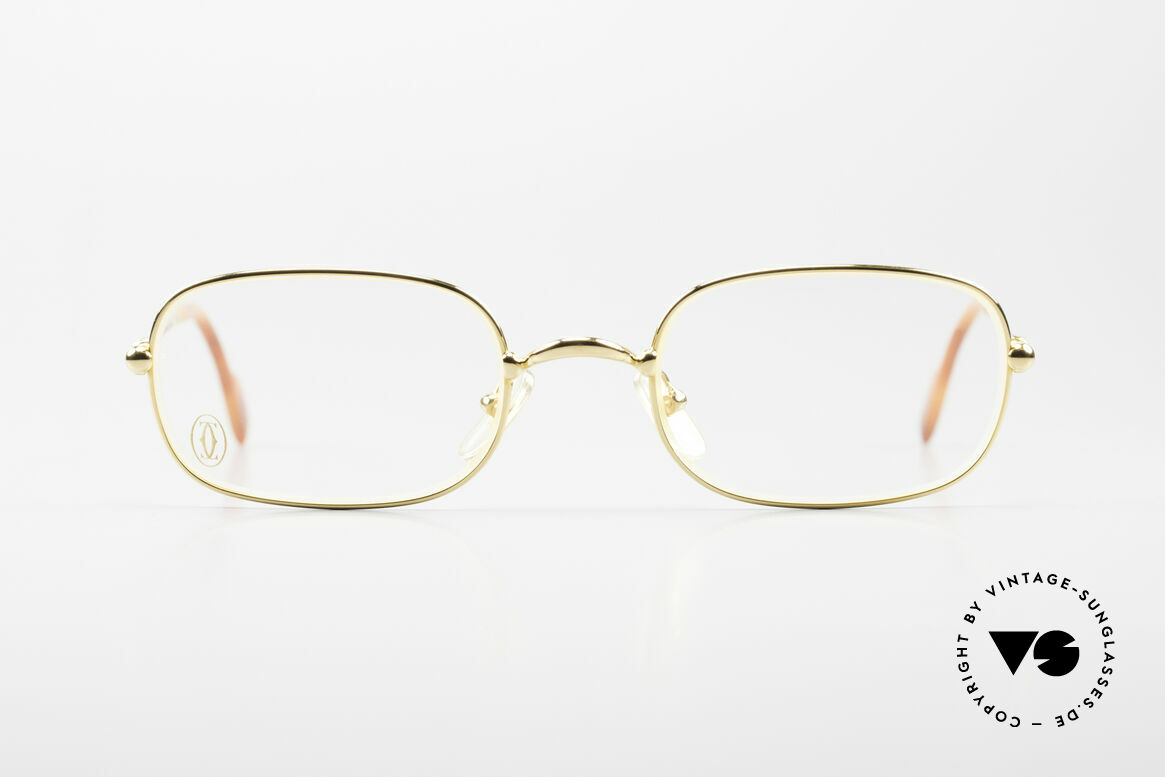 Cartier Deimios Rare Luxury Eyeglasses 90's, Deimios = model of the Cartier 'Thin Rim' Collection, Made for Men and Women
