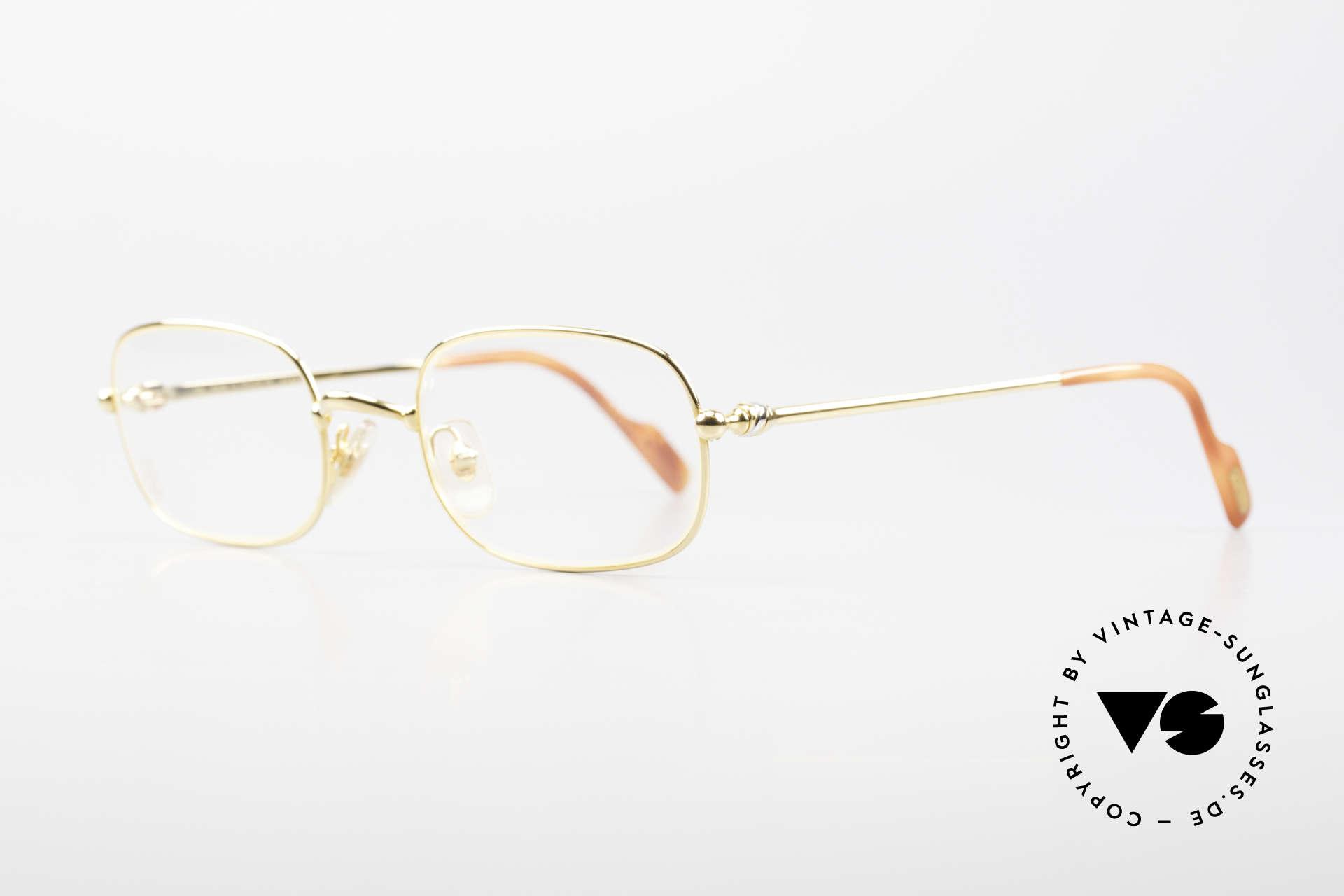 Cartier Deimios Rare Luxury Eyeglasses 90's, flexible lightweight frame (1st class wearing comfort), Made for Men and Women