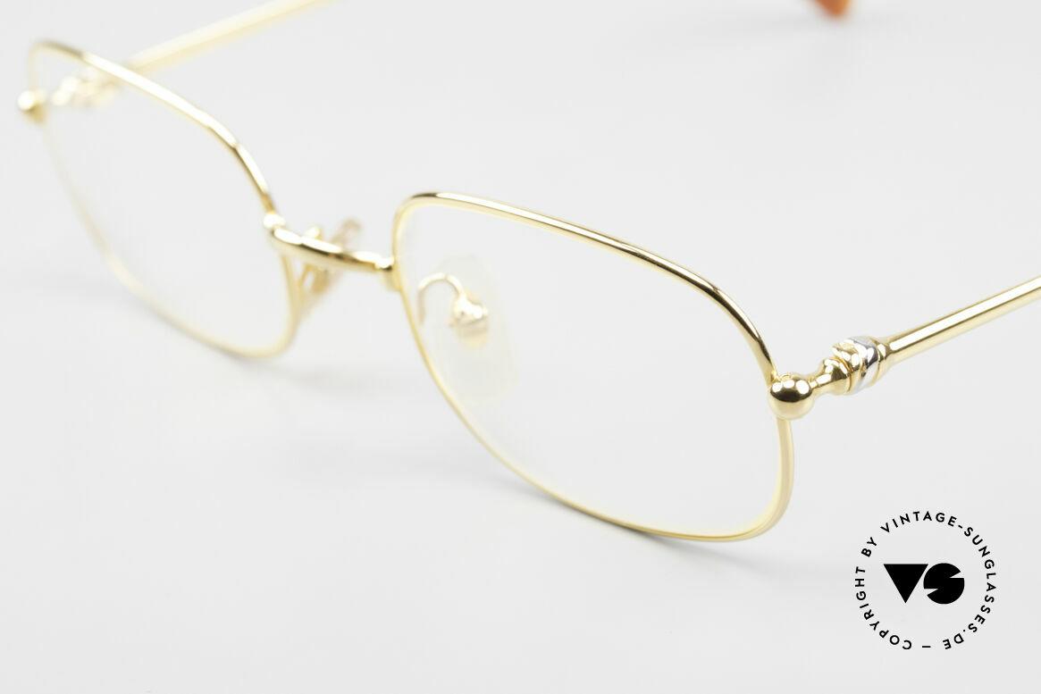 Cartier Deimios Rare Luxury Eyeglasses 90's, precious & timeless design in medium size 52/21, 135, Made for Men and Women
