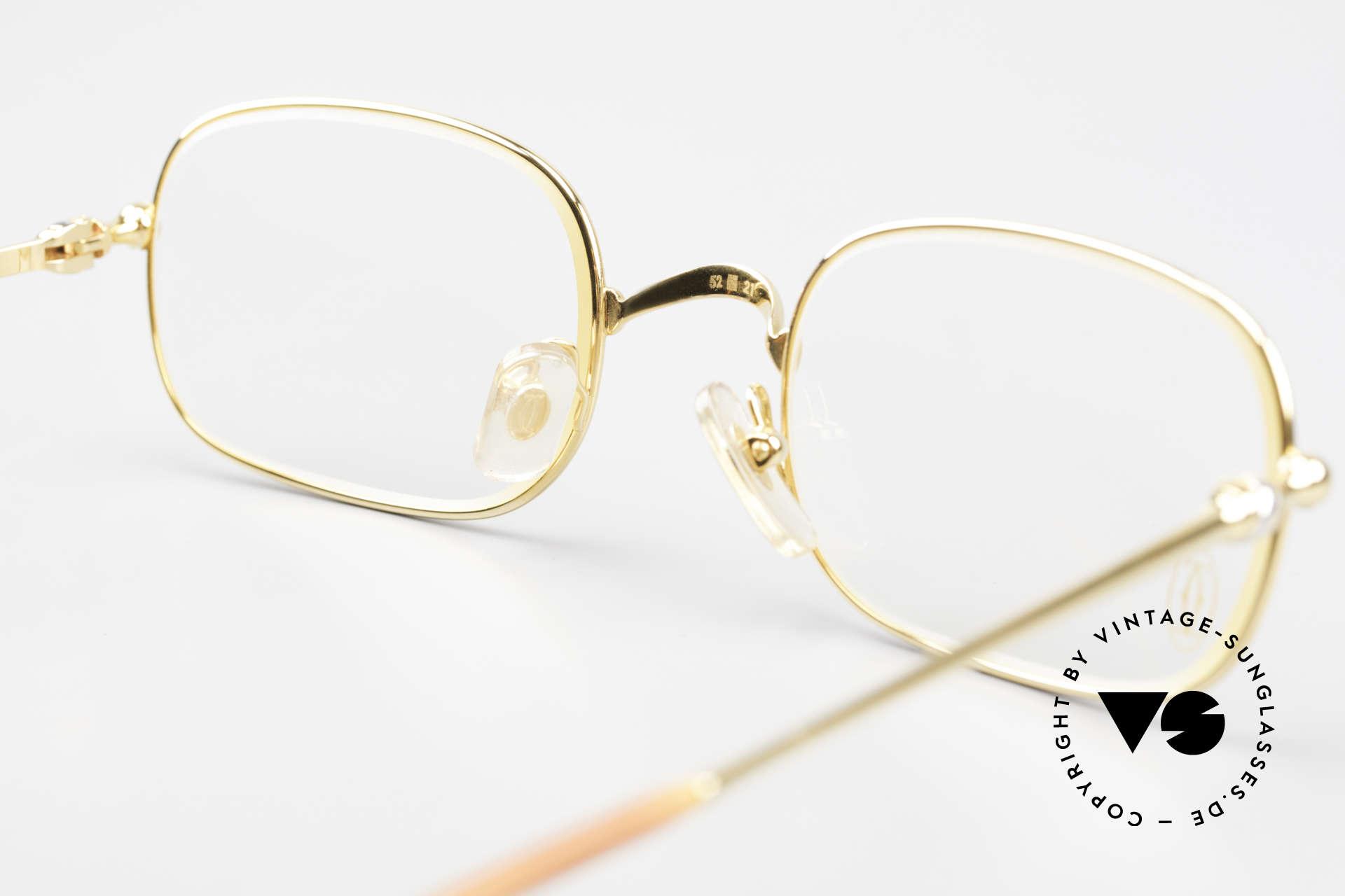 Cartier Deimios Rare Luxury Eyeglasses 90's, NO retro eyewear, but a 20 years old Cartier Original, Made for Men and Women