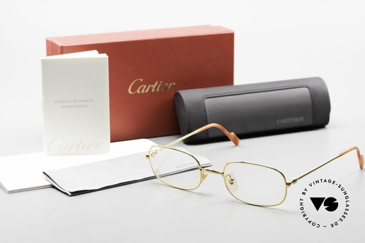 Cartier Deimios Rare Luxury Eyeglasses 90's, Size: medium, Made for Men and Women