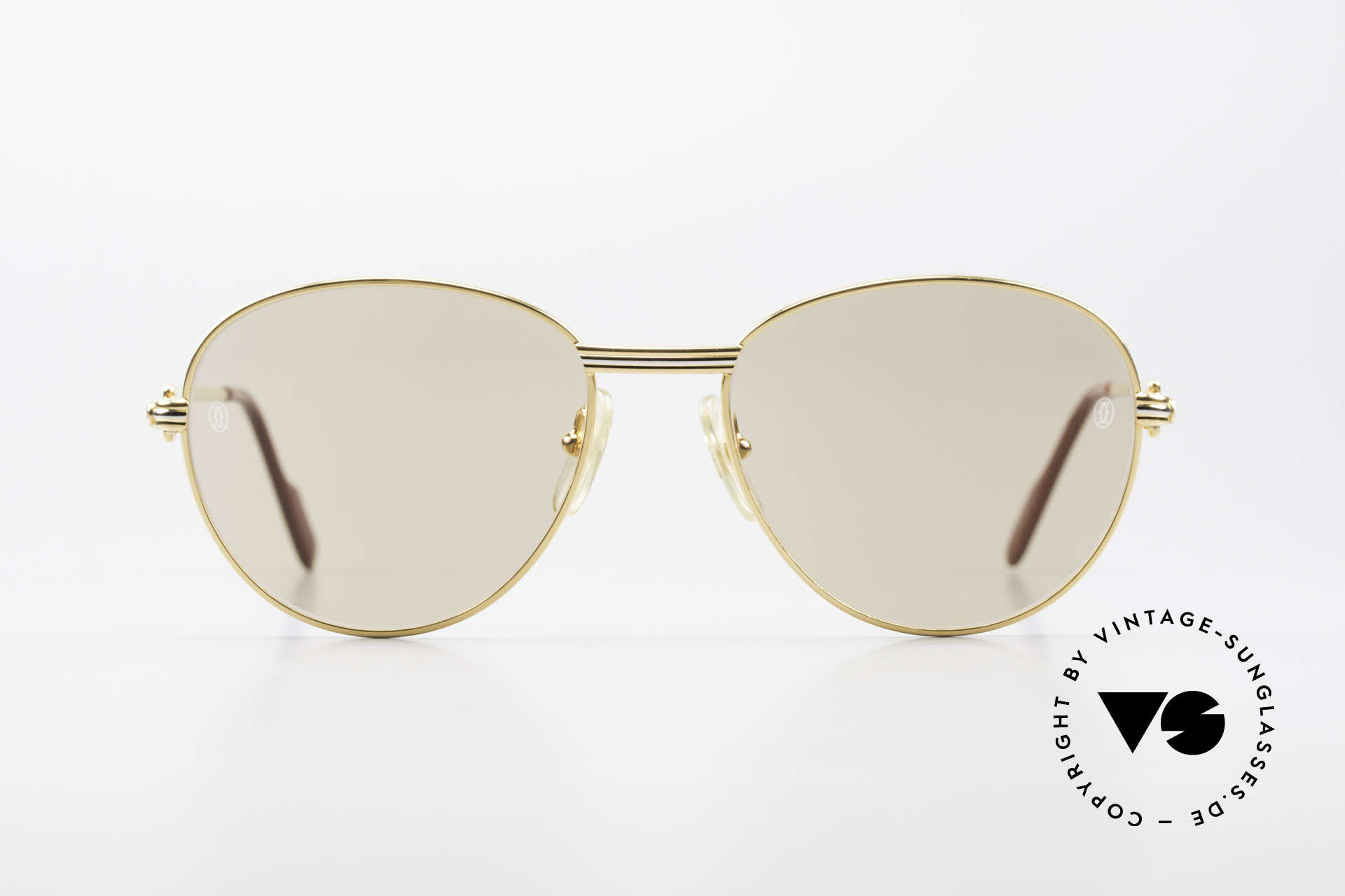 """Cartier S Brillants 0,20 ct 1980's Diamond Sunglasses, model from the """"S""""-Series (market launch in 1988), Made for Women"""