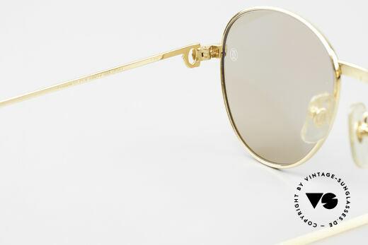 Cartier S Brillants 0,20 ct 1980's Diamond Sunglasses, NO retro fashion, but a rare old Cartier-ORIGINAL, Made for Women