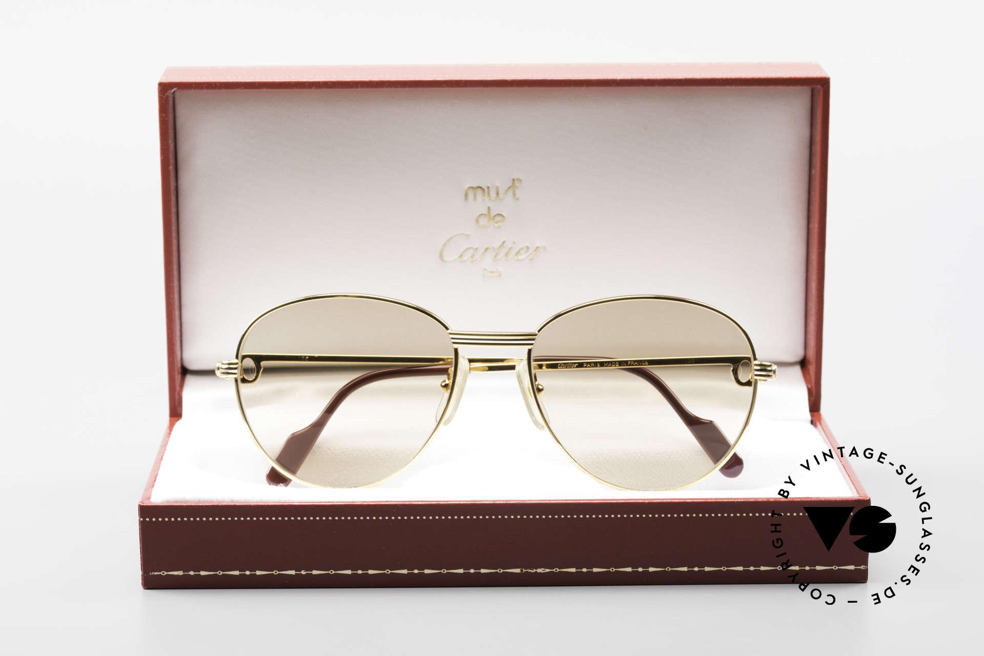 Cartier S Brillants 0,20 ct 1980's Diamond Sunglasses, Size: medium, Made for Women