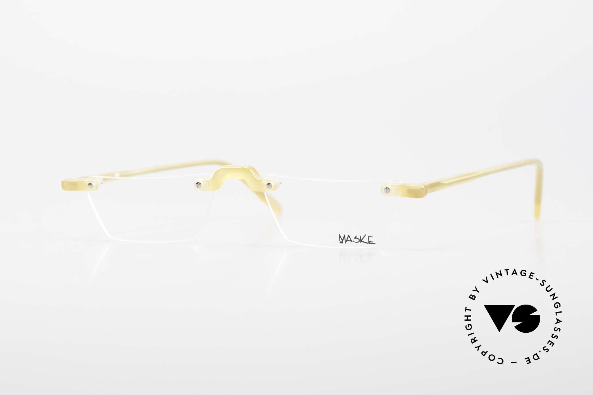 Design Maske Berlin Alpha 8 Artful 90s Reading Eyeglasses, Design Maske Berlin: glasses like never seen before, Made for Men and Women