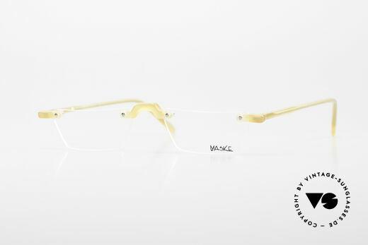 Design Maske Berlin Alpha 8 Artful 90s Reading Eyeglasses Details