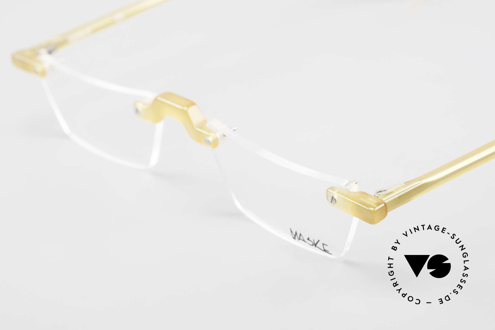 Design Maske Berlin Alpha 8 Artful 90s Reading Eyeglasses, limited-lot production from Berlin, collector's item!, Made for Men and Women