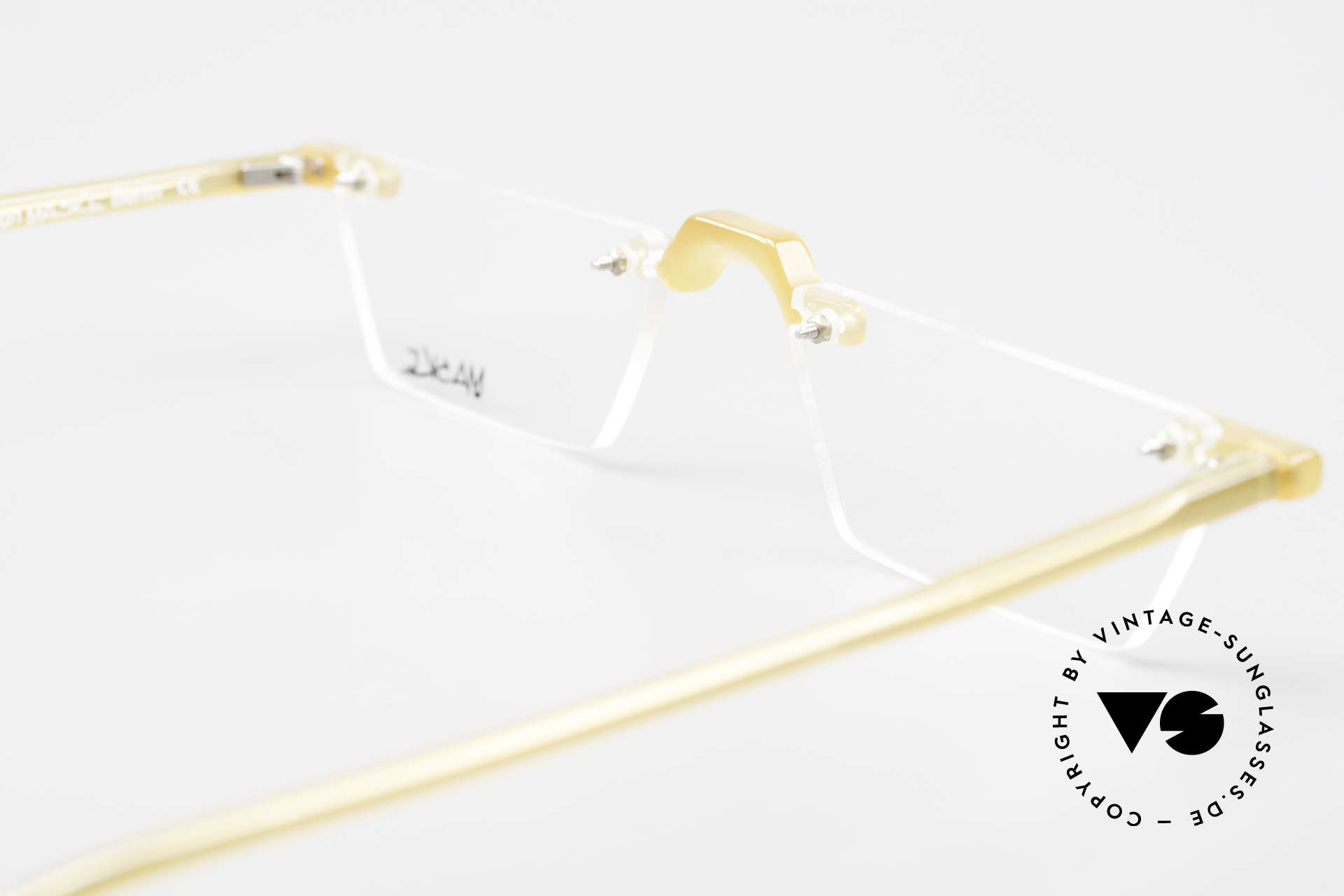 Design Maske Berlin Alpha 8 Artful 90s Reading Eyeglasses, Size: small, Made for Men and Women