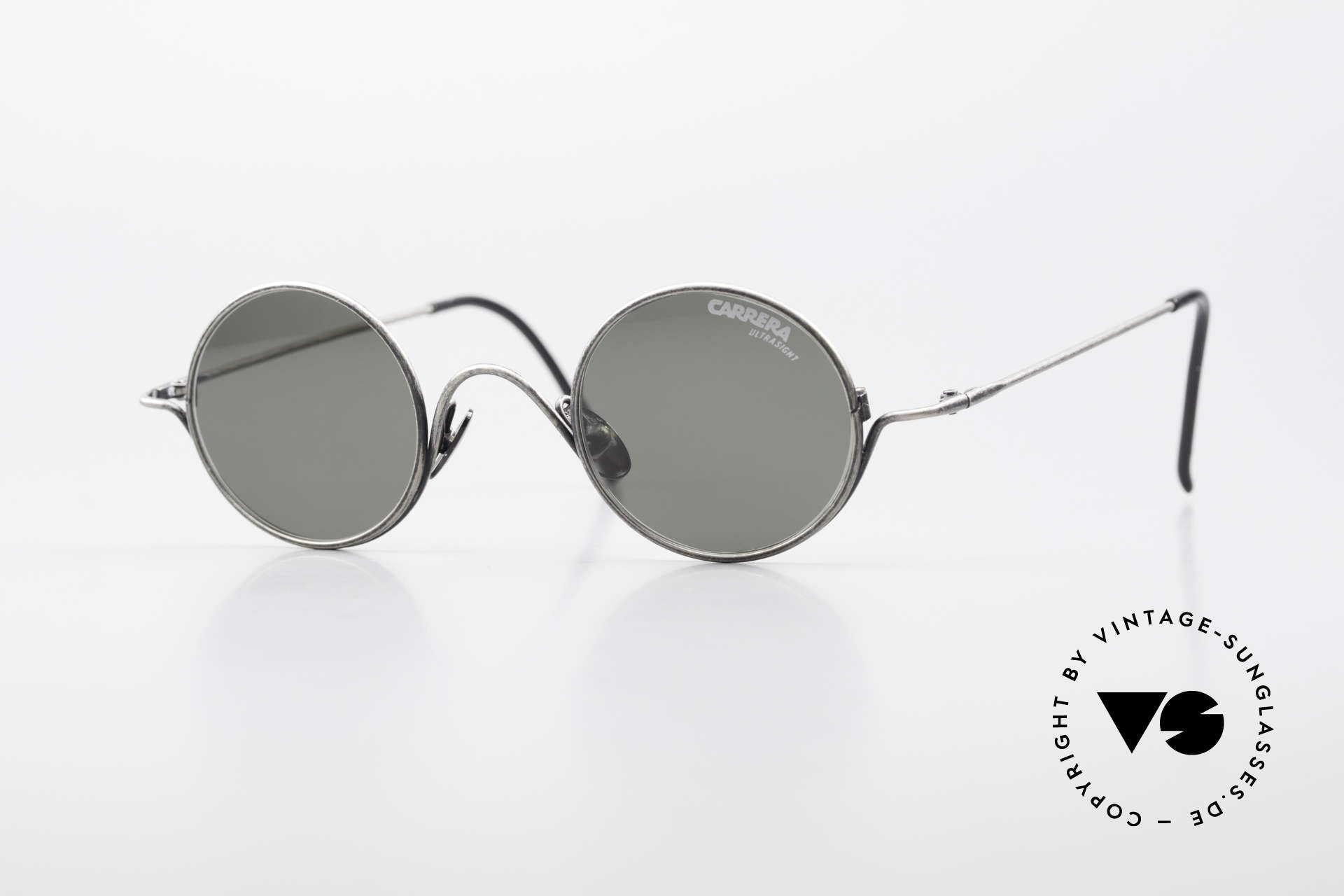 Carrera 5790 Small Round Vintage Glasses, small round CARRERA sunglasses from the early 90's, Made for Men and Women
