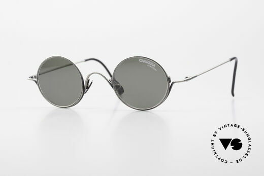 Carrera 5790 Small Round Vintage Glasses Details
