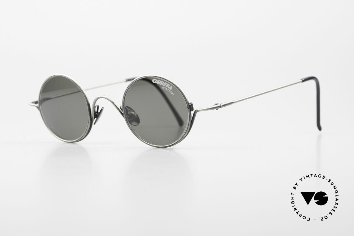 Carrera 5790 Small Round Vintage Glasses, Carrera ULTRASIGHT sun lenses: 100% UV protection, Made for Men and Women
