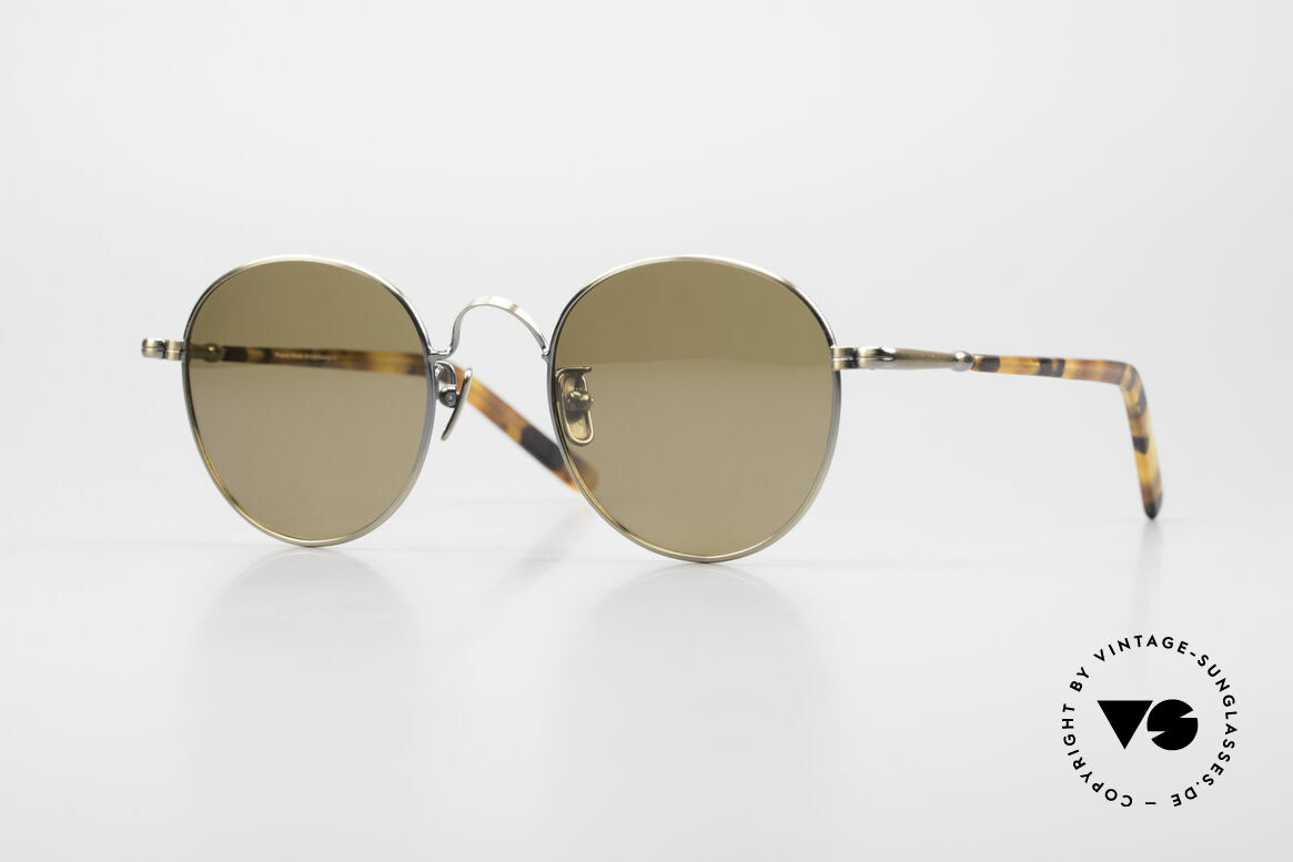 Lunor VA 111 Polarized Panto Sunglasses, LUNOR: honest craftsmanship with attention to details, Made for Men