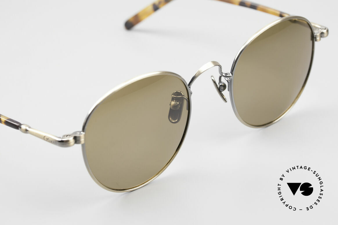 Lunor VA 111 Polarized Panto Sunglasses, Size: medium, Made for Men