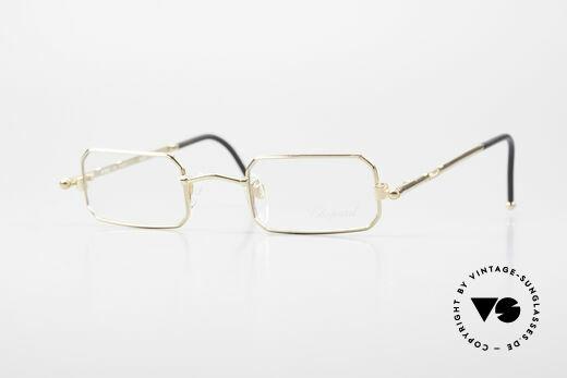 Chopard C002 Octagonal Luxury Eyeglasses Details