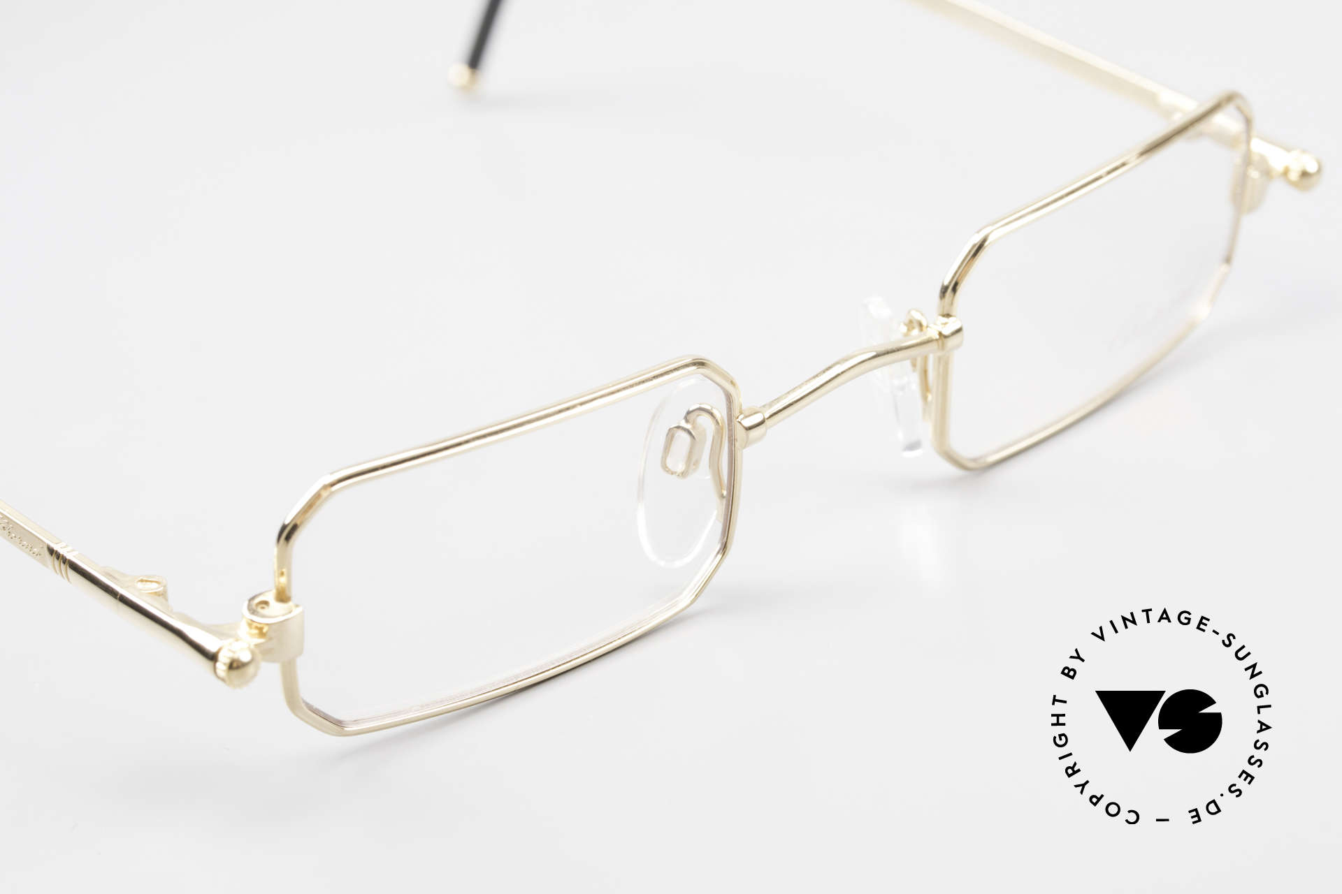 Chopard C002 Octagonal Luxury Eyeglasses, new old stock (like all our rare vintage eyeglasses), Made for Men and Women