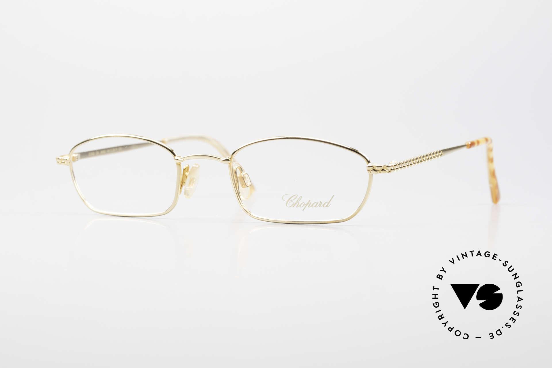 Chopard C052 Ladies Luxury Glasses 2000's, vertu: amazing ladies' eyeglasses by CHOPARD =, Made for Women