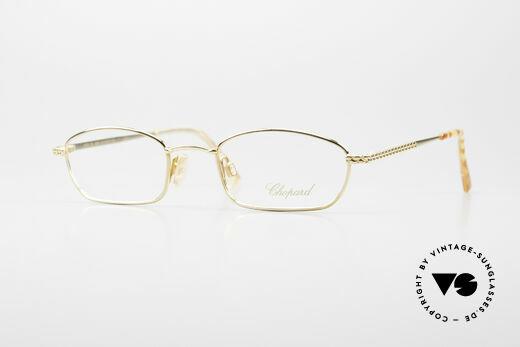 Chopard C052 Ladies Luxury Glasses 2000's Details