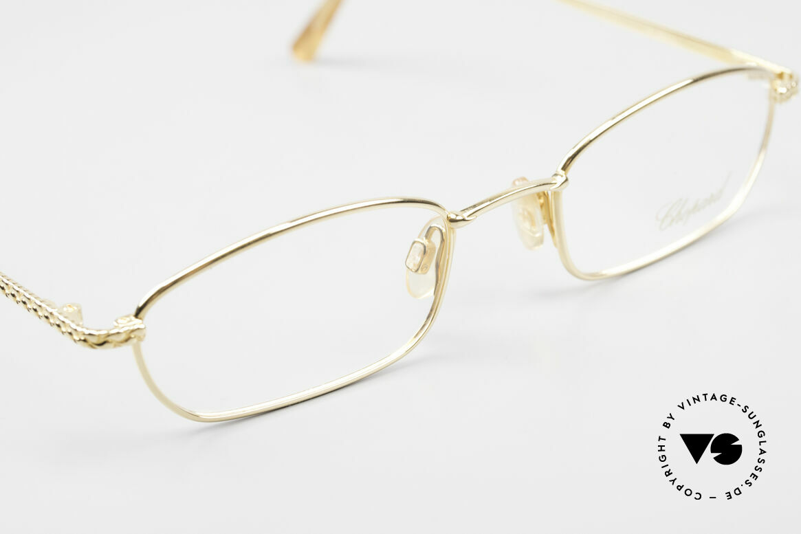 Chopard C052 Ladies Luxury Glasses 2000's, new old stock (like all our rare vintage eyeglasses), Made for Women