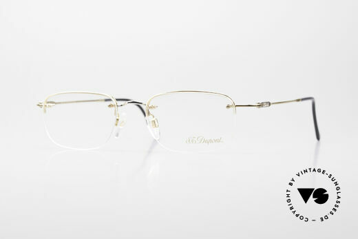 S.T. Dupont D523 Rimless Glasses Avance 2000's Details