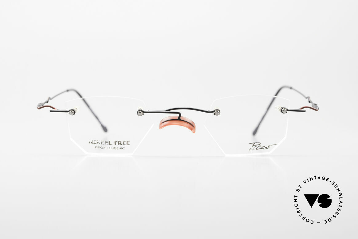 """Locco Profile Crazy Vintage Eyeglasses 90's, the slogan:""""Funtastic Eyewear for Funtastic People"""", Made for Men and Women"""