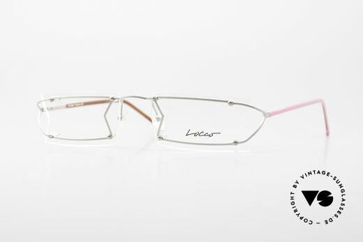Locco Pinot Crazy Designer Eyeglasses 90's Details