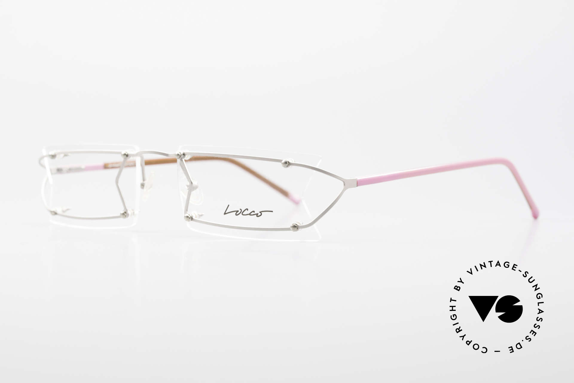 """Locco Pinot Crazy Designer Eyeglasses 90's, made for individualists and all """"character heads"""" ;), Made for Men and Women"""