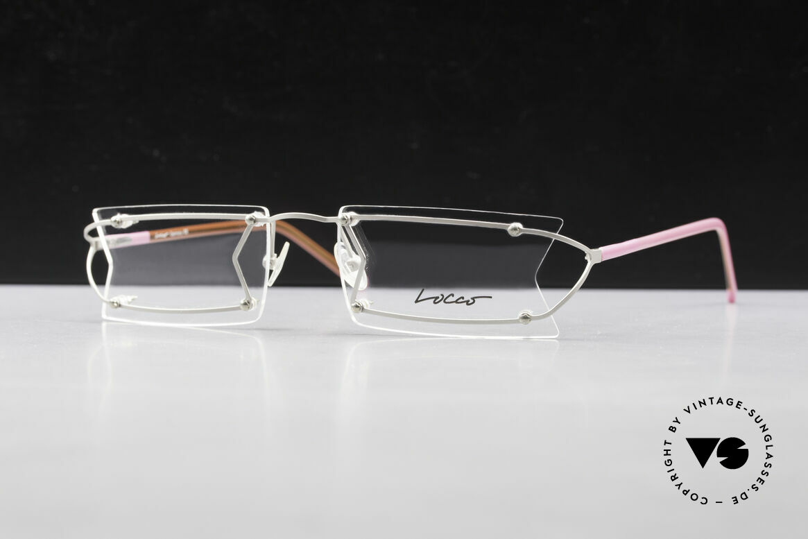 Locco Pinot Crazy Designer Eyeglasses 90's, never worn vintage rarity for cheerfulness & mirth, Made for Men and Women