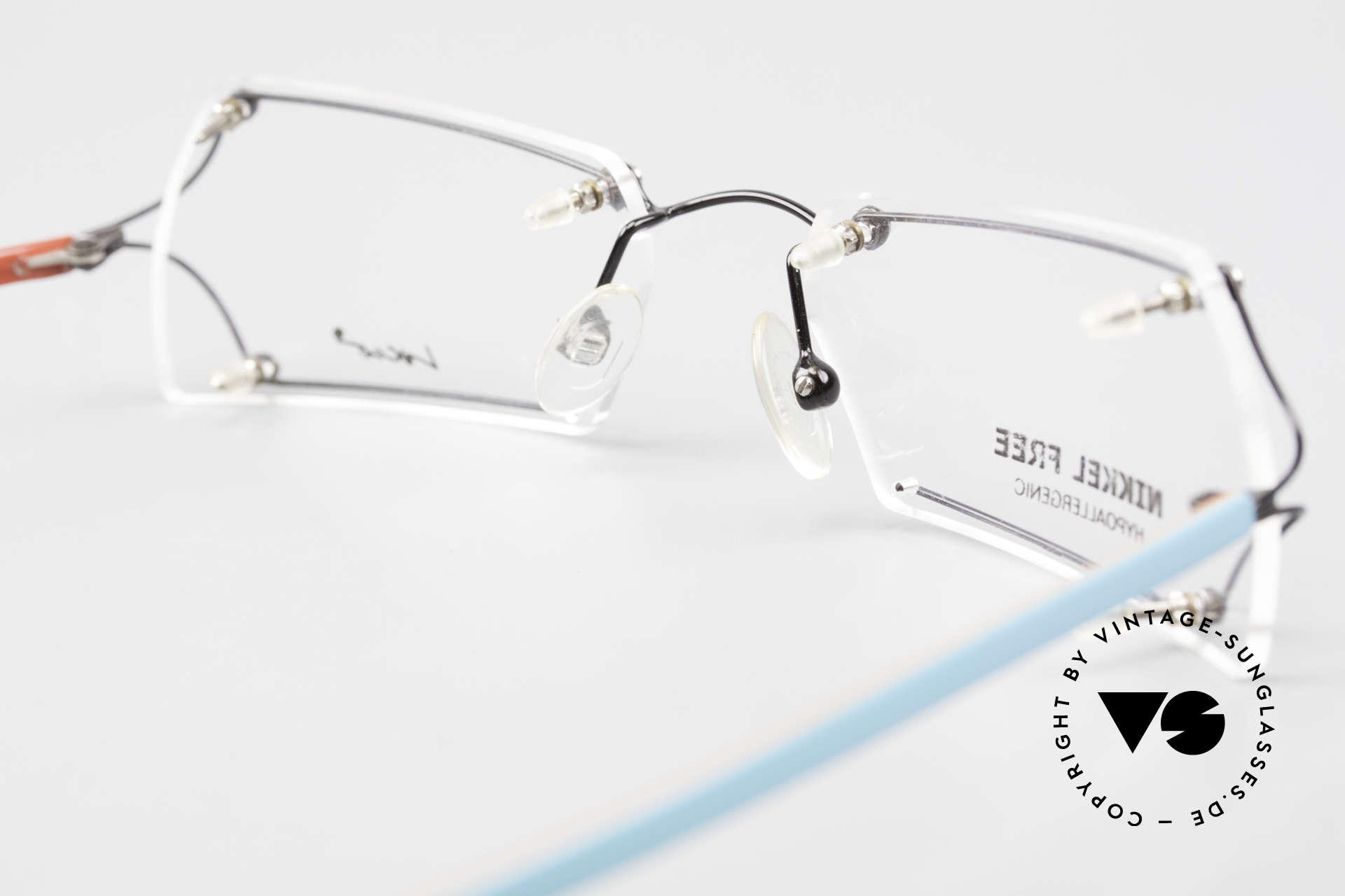 Locco Lux Crazy 90's Rimless Eyeglasses, Size: small, Made for Men and Women