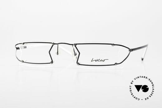 Locco Pinot Crazy 90's Rimless Eyeglasses Details