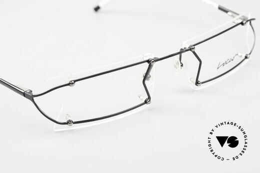 Locco Pinot Crazy 90's Rimless Eyeglasses, demo lenses should be replaced with prescriptions, Made for Men and Women