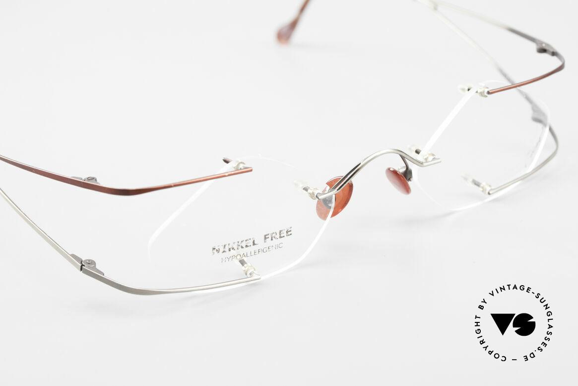 Locco Stars C Extraordinary Rimless Frame, Size: medium, Made for Men and Women