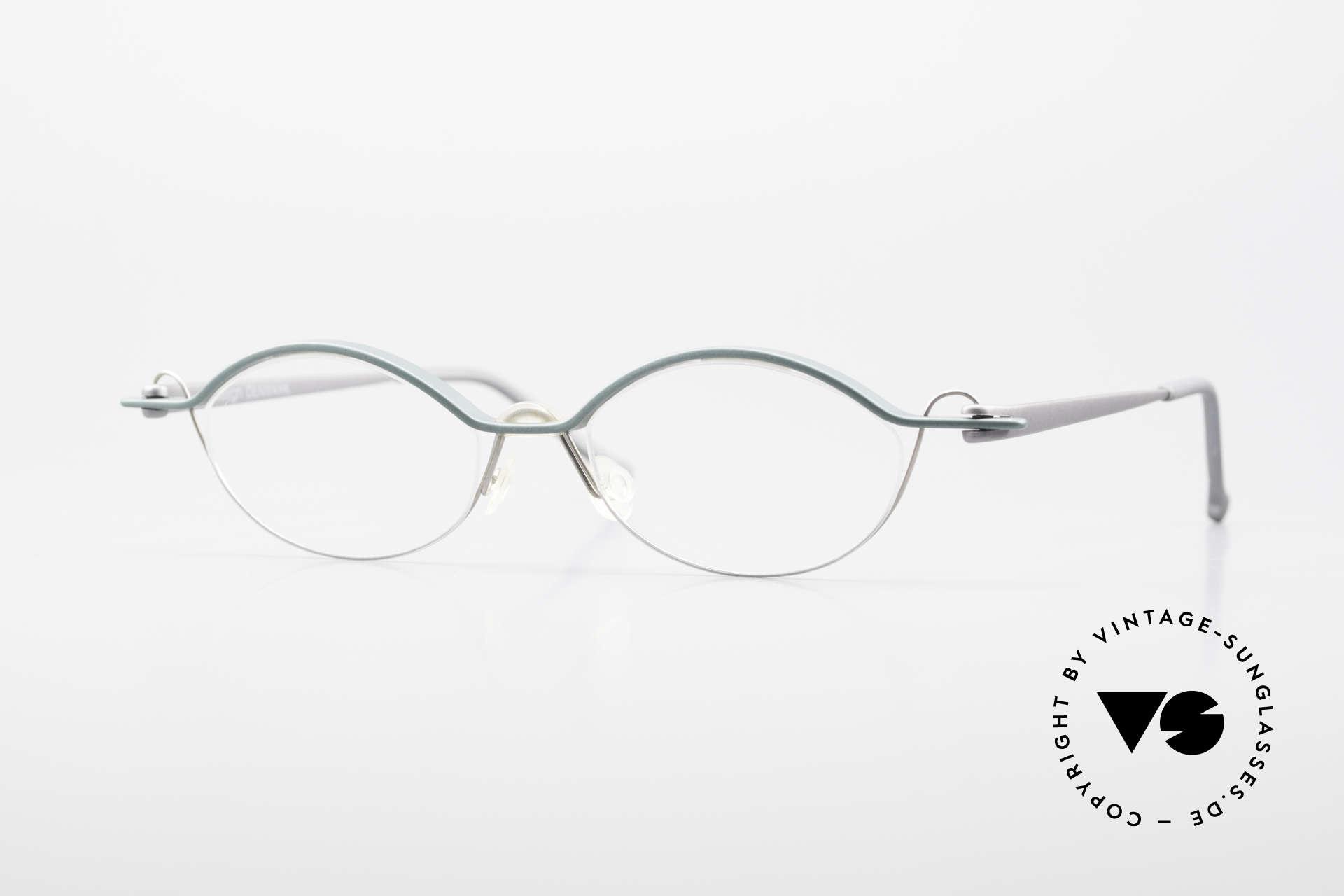 ProDesign No25 Gail Spence Aluminium Frame, Pro Design N°TwentyFive - Optic Studio Denmark, Made for Men and Women
