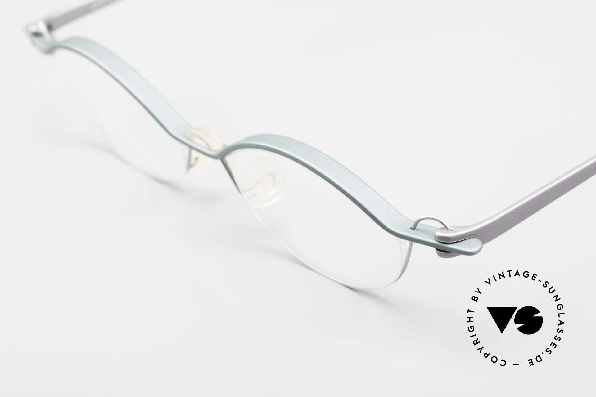 ProDesign No25 Gail Spence Aluminium Frame, distinctively GAIL SPENCE (specs for design lovers), Made for Men and Women