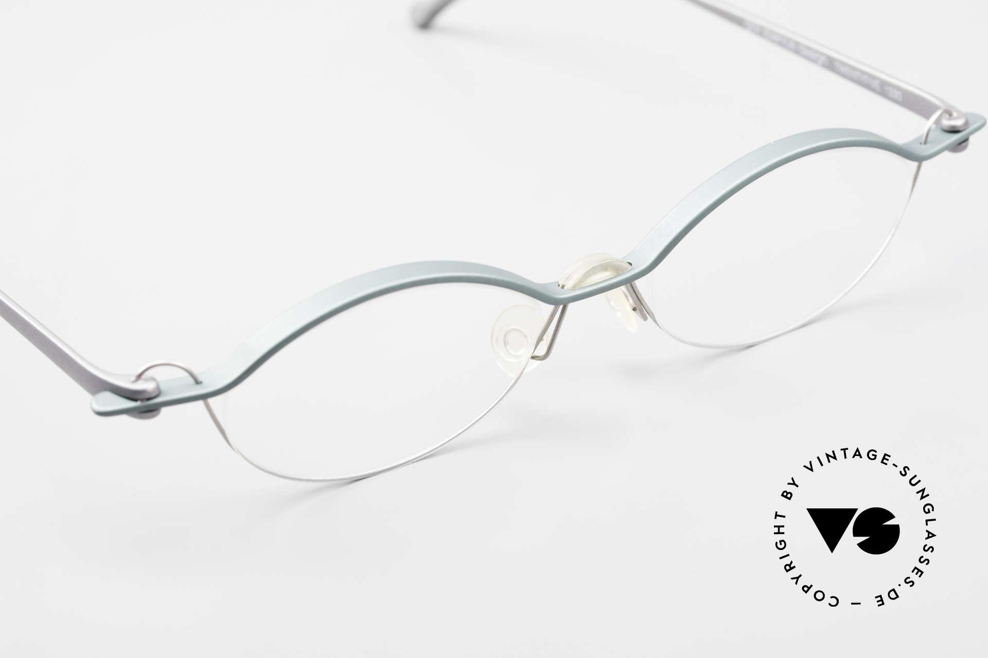 ProDesign No25 Gail Spence Aluminium Frame, unworn (like all our rare vintage ProDesign eyewear), Made for Men and Women
