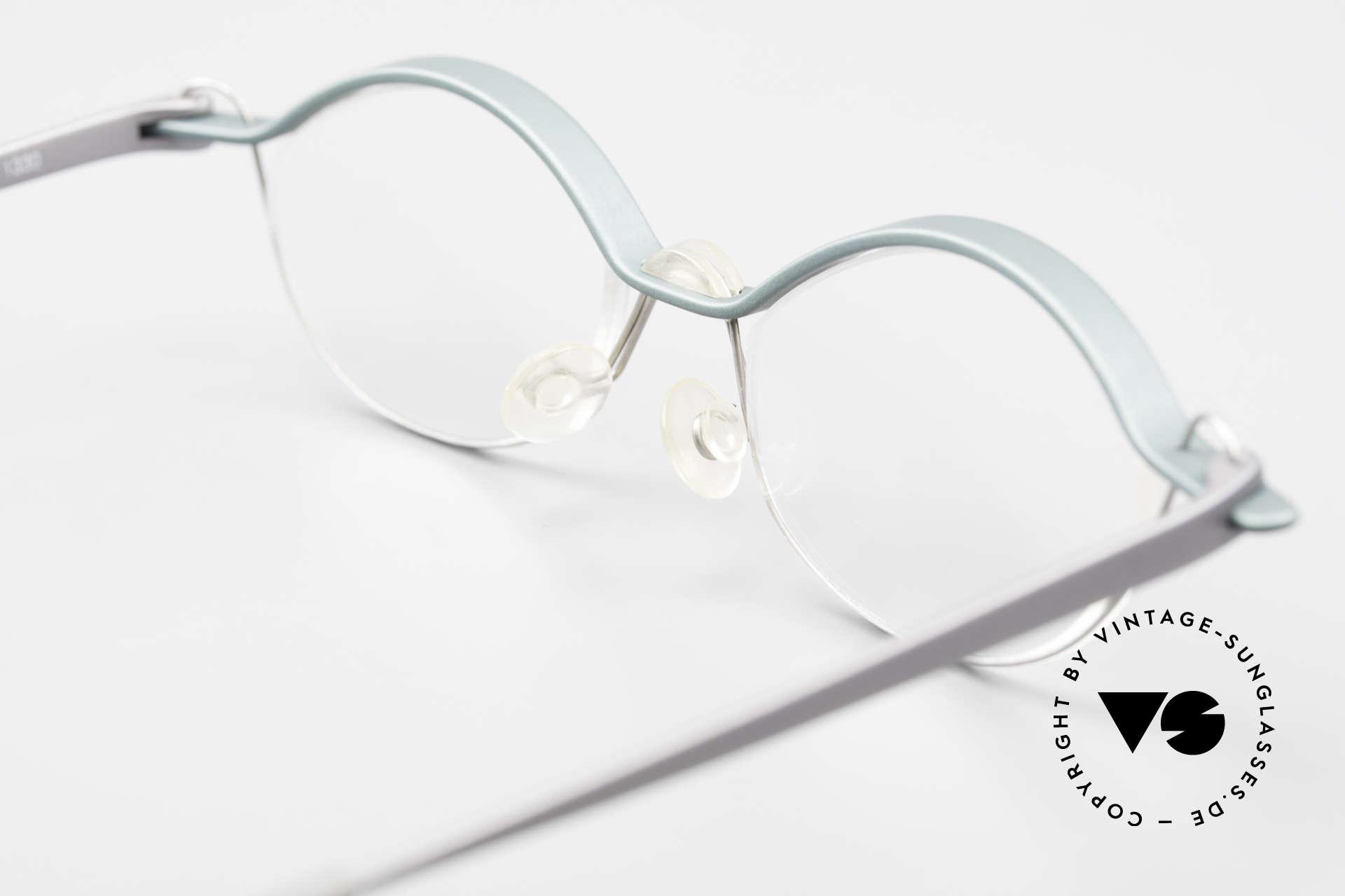 ProDesign No25 Gail Spence Aluminium Frame, NO retro frame, but a true 90's original + hard case, Made for Men and Women