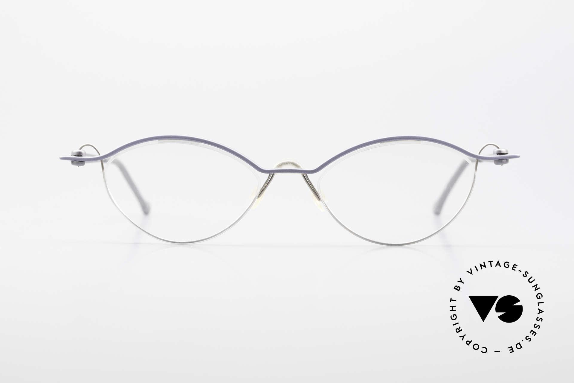 ProDesign No26 Aluminium Gail Spence Frame, true vintage aluminium frame - Gail Spence Design, Made for Men and Women