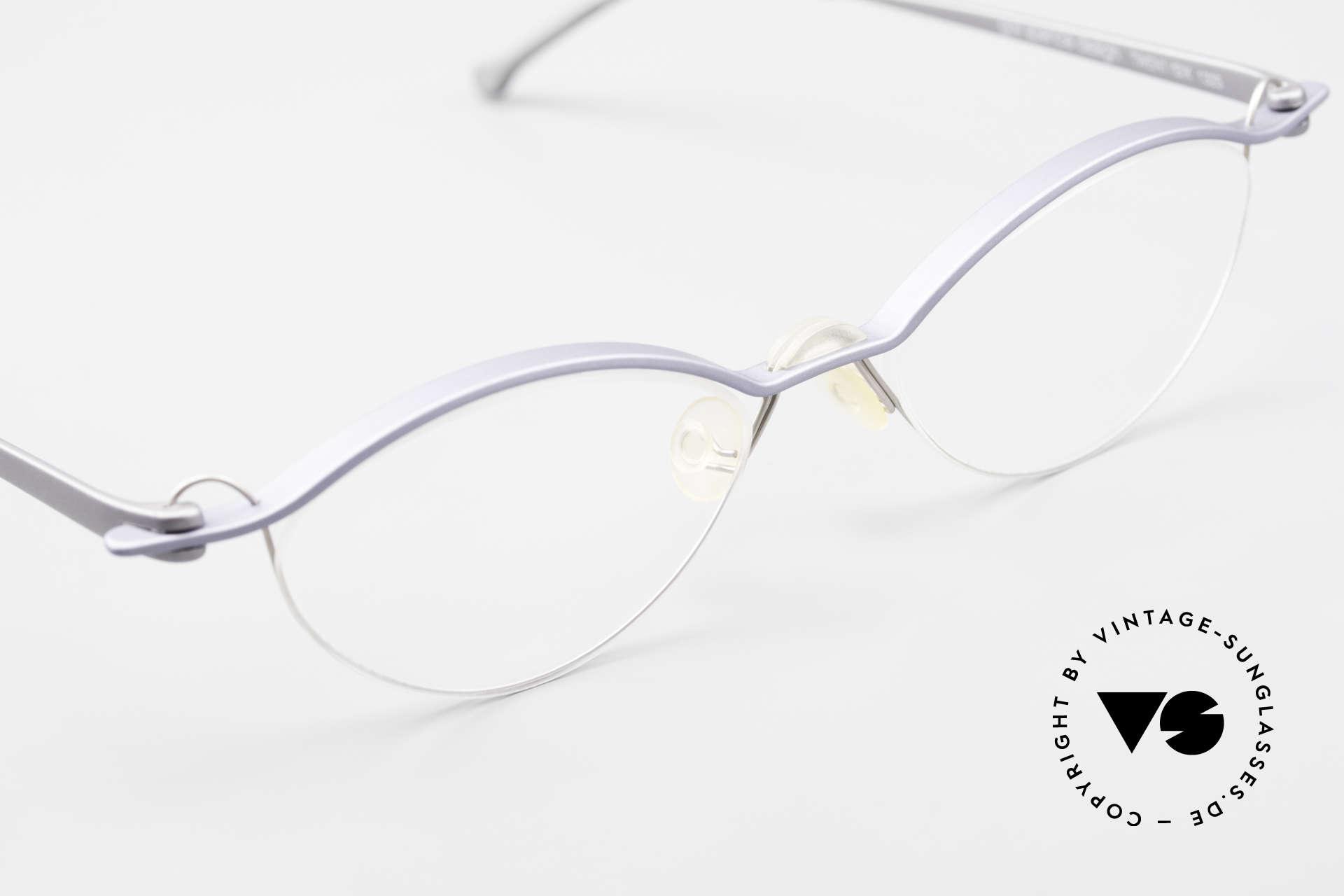 ProDesign No26 Aluminium Gail Spence Frame, unworn (like all our rare vintage ProDesign eyewear), Made for Men and Women