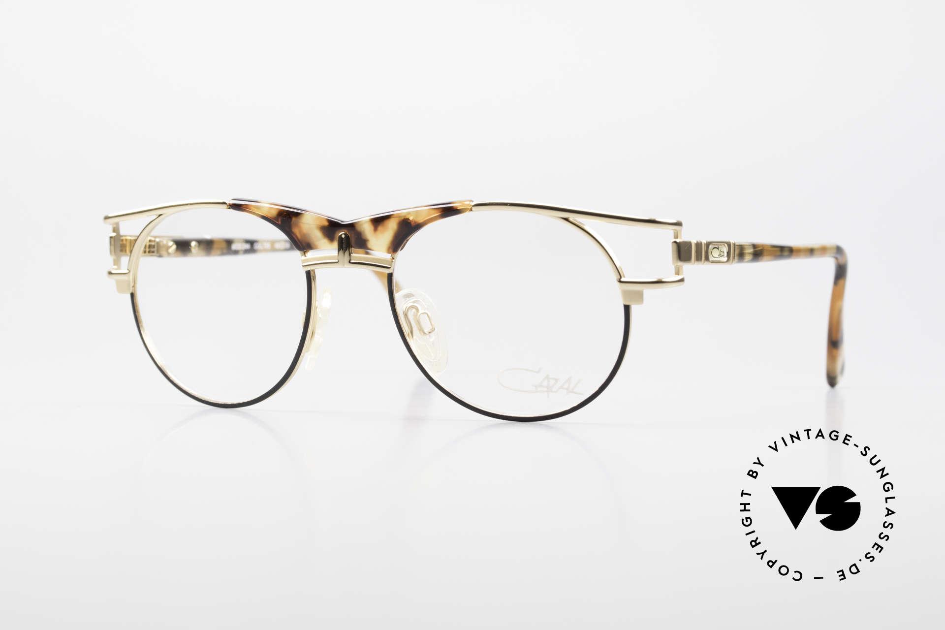 Cazal 244 Iconic 90's Vintage Eyeglasses, elegant Cazal designer glasses of the early 90's, Made for Men and Women