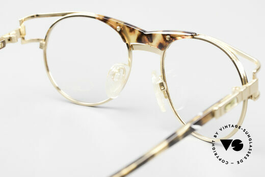Cazal 244 Iconic 90's Vintage Eyeglasses, the orig. DEMO lenses can be replaced optionally, Made for Men and Women