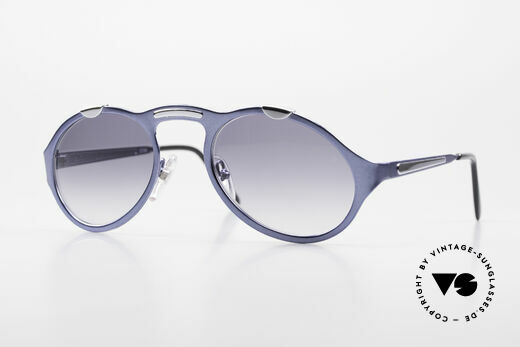 Bugatti 13164 Limited Rare Luxury 90's Sunglasses Details