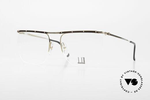 Dunhill 6056 80's Genuine Horn Trims Frame Details