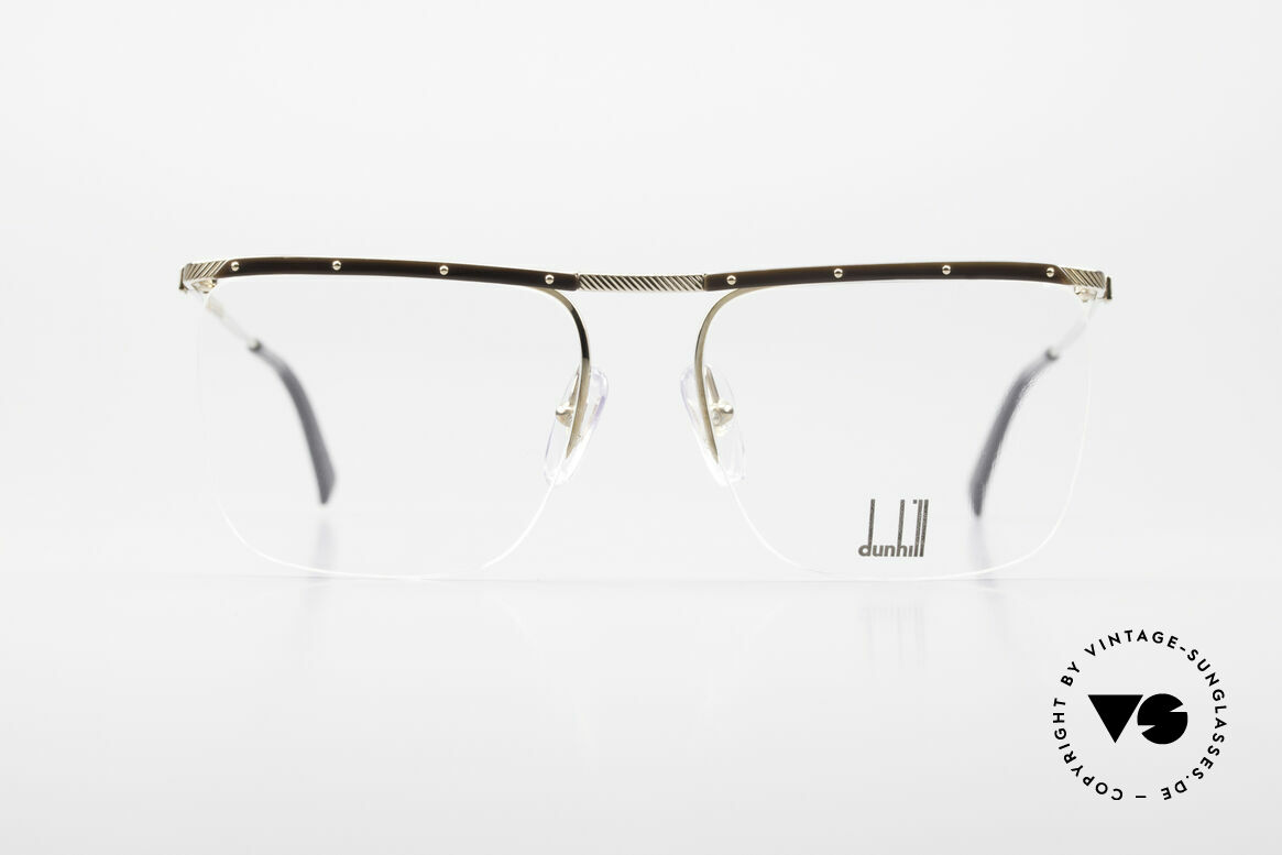 Dunhill 6056 80's Genuine Horn Trims Frame, gold-plated frame with GENUINE HORN trims, Made for Men