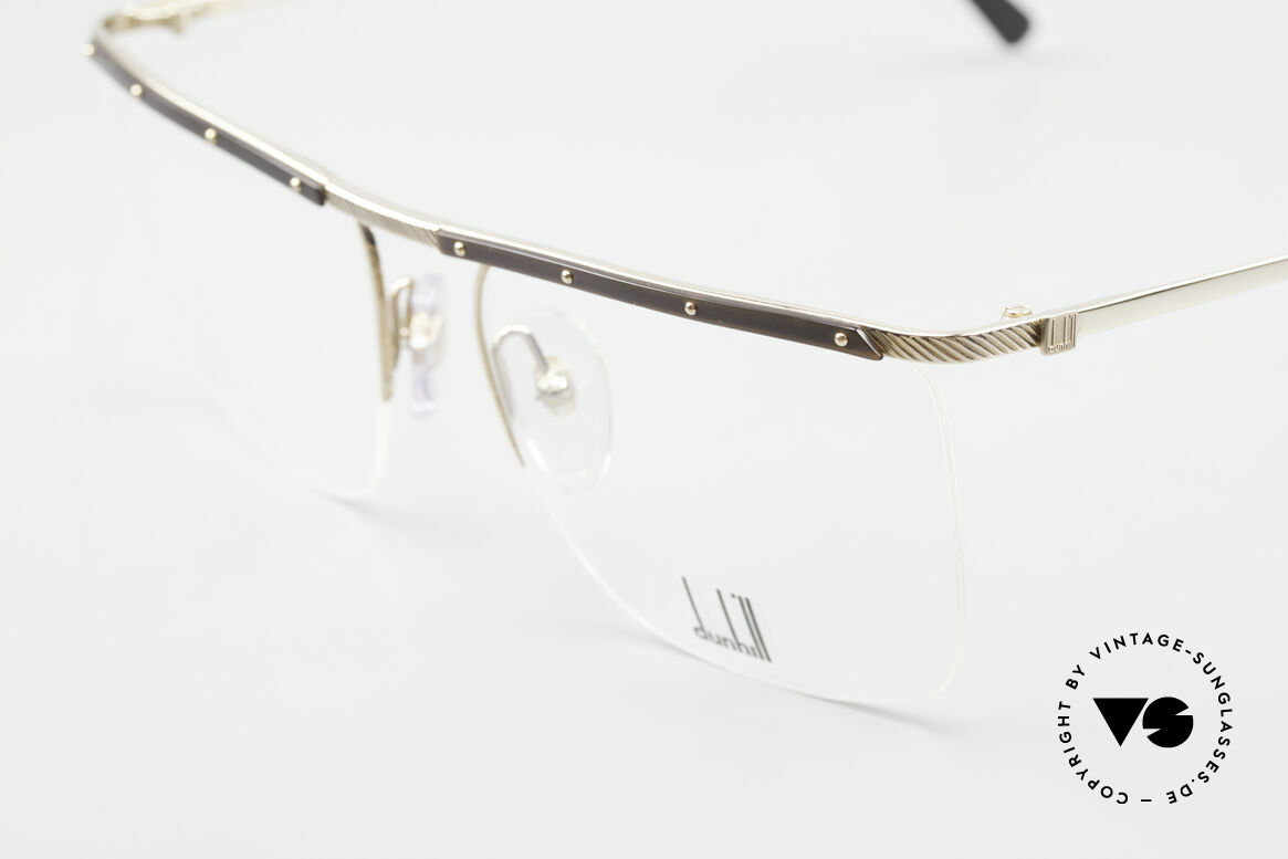Dunhill 6056 80's Genuine Horn Trims Frame, a true vintage 80's classic in top-notch quality, Made for Men