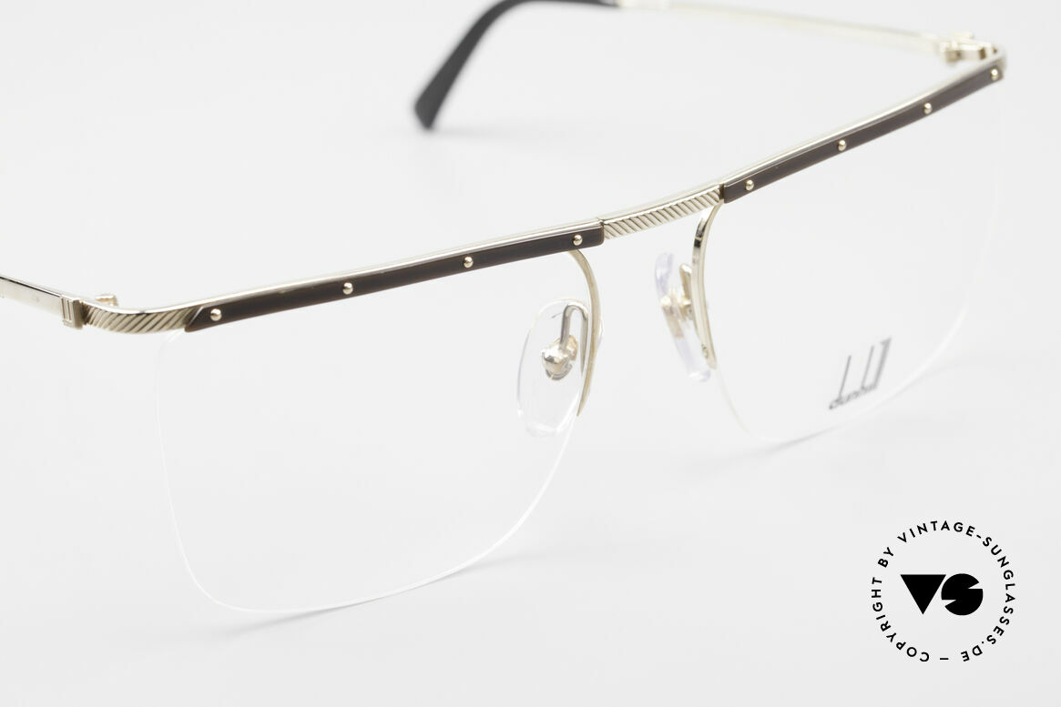 Dunhill 6056 80's Genuine Horn Trims Frame, unworn (like all our vintage DUNHILL eyewear), Made for Men