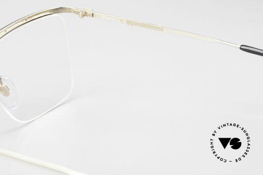 Dunhill 6056 80's Genuine Horn Trims Frame, NO retro glasses, but a precious old ORIGINAL!, Made for Men